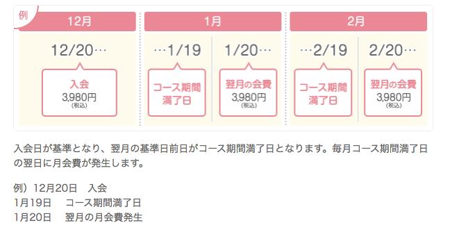 ブライダルネット_料金_自動更新